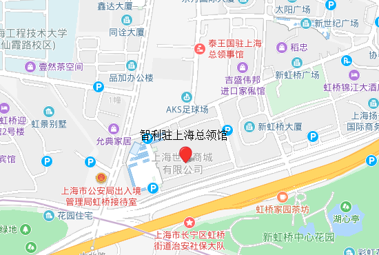 智利驻上海总领馆